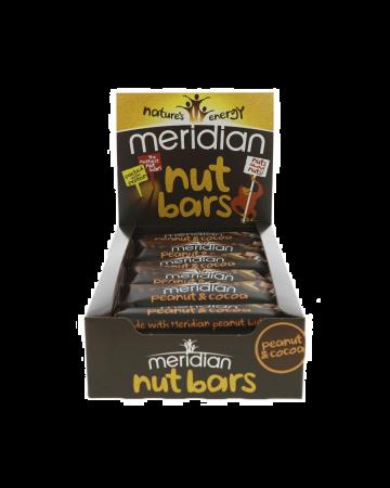 Meridian Peanut & Cocoa Bar - 18 X 40g