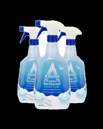 Astonish Fabric Refresher Cotton Fresh Spray 750ml