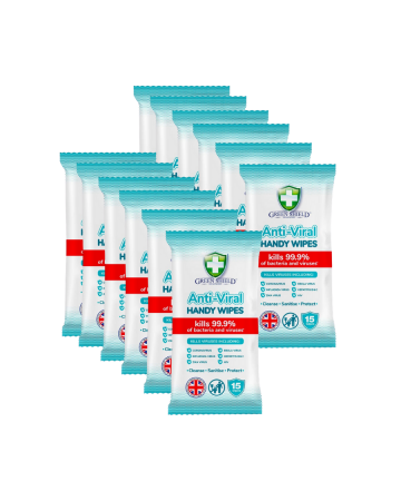 Green Shield Anti-viral Handy Wipes 15s