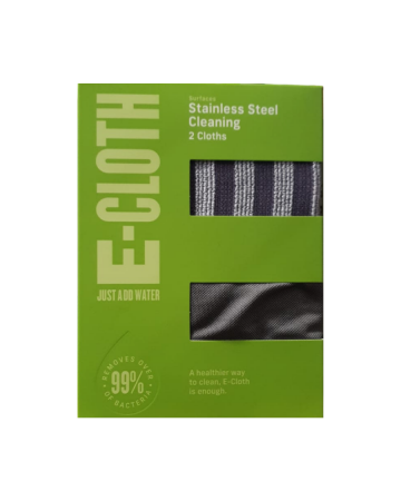 E-cloth Stainless Steel Pack (dual Pack)