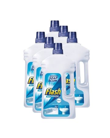 Flash Bathroom Cleaner Liquid 1l