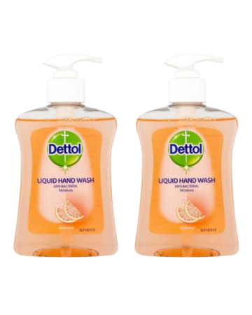 Dettol Antibacterial Liquid Hand Soap Grapefruit 250ml