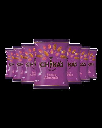 Chika's Smoked Almonds 41g (expiry 30/09/2020)