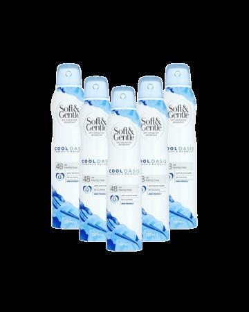 Soft & Gentle Deodorant Verbena & Water Lily 150ml