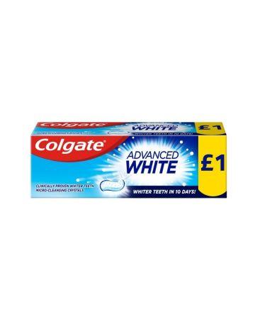 Colgate Toothpaste Advanced Whitening 50ml (PM £1.00)