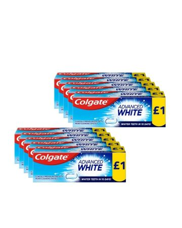 Colgate Toothpaste Advanced Whitening 50ml (PM £1.00)