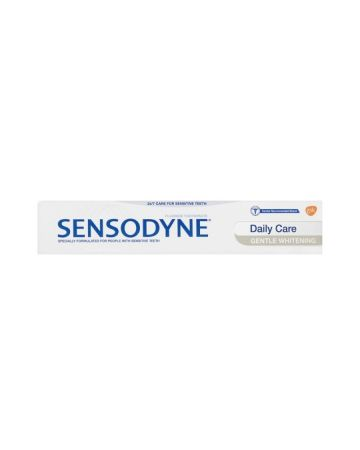 SENSODYNE TOOTHPASTE DAILY CARE GENTLE WHITENING 75ML