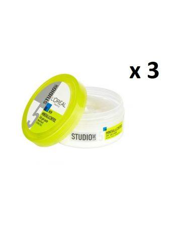 L'oreal Studio Line Mineral & Control Gel Paste 150ml