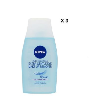 Nivea Daily Essentials Extra Gentle Eye Make Up Remover 125 Ml