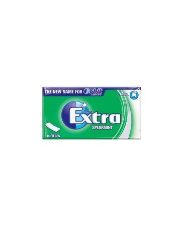 Wrigley's Extra Spearmint Sugarfree Chewing Gum 14s