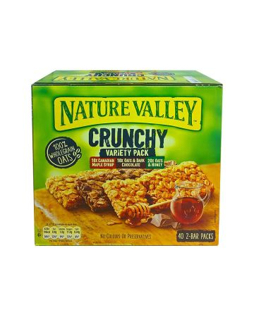 Nature Valley Crunchy Variety Pack 40