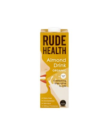 Rude Health Organic Almond Milk Drink 1ltr