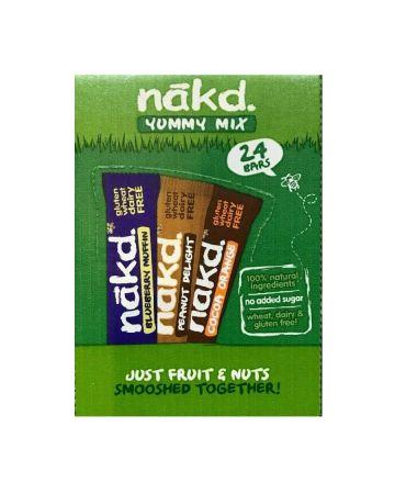 Nakd Yummy Mix Variety Pack 24s
