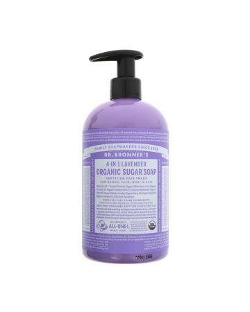 Dr Bronner's Lavender Sugar Soap Pump 708ml