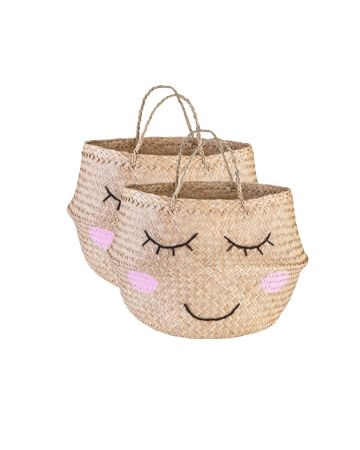 Sass & Belle Seagrass Sweet Dreams Storage Basket
