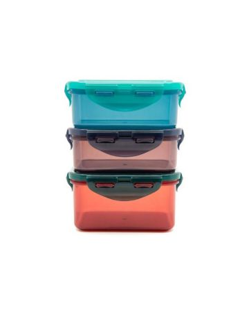 Lock & Lock Eco Containers Set Of 3