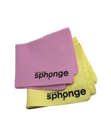 Sph2onge Cloths Pack Of 2