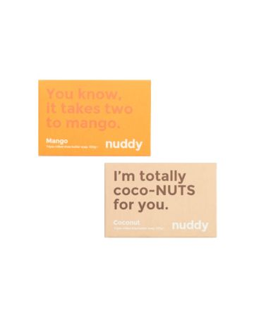 Nuddy Soaps Mango And Coconut 100g Pack Of 2