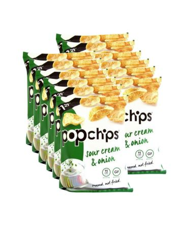 Pop Chips - Sour Cream And Onion 70g (pm £1.29)