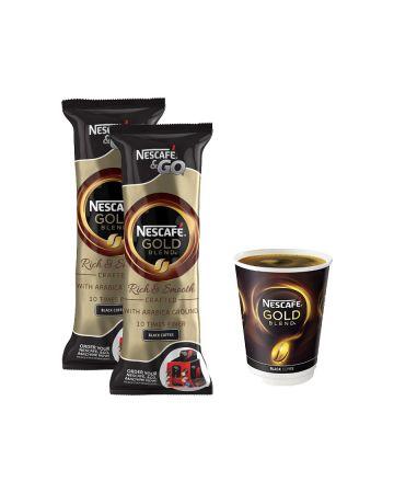 Nescafe & Go Gold Blend Black Coffee 8s