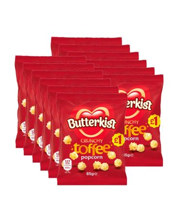 Butterkist Popcorn Toffee 85g (pm £1)