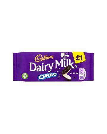 Cadbury Dairy Milk Oreo Bar 120g (PM £1)