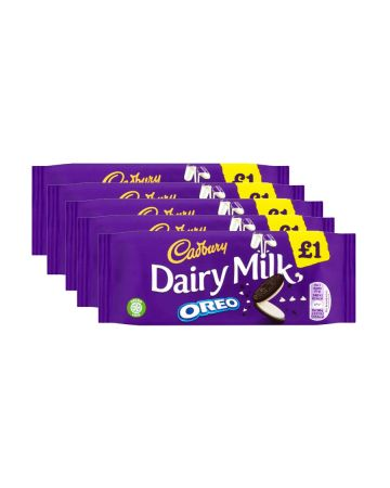 Cadbury Dairy Milk Oreo Bar 120g (pm £1)