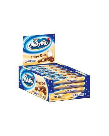 Milky Way Crispy Rolls - Twin Pack