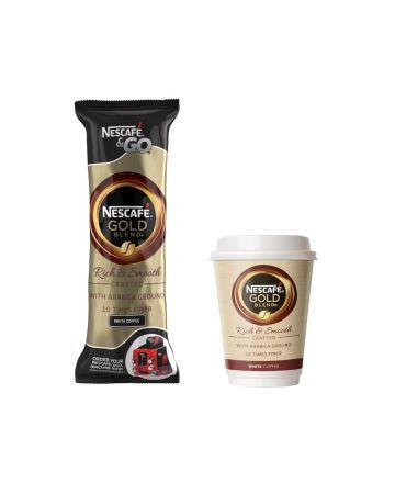 Nescafe & Go Gold Blend White Coffee 8s