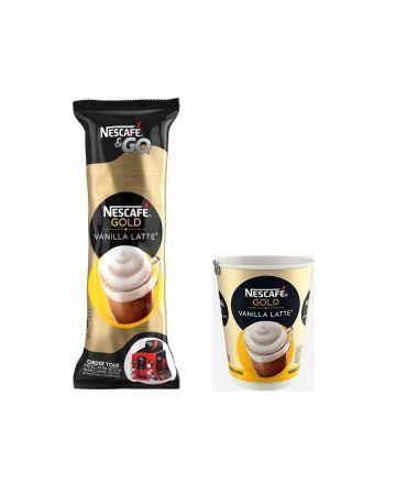 Nescafe & Go Gold Vanilla Latte Coffee 8s
