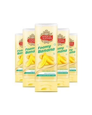 Imperial Leather Shower Cream Foamy Banana 250ml