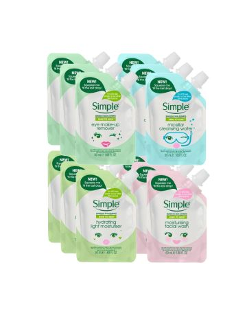 Simple Pouch Variety Set 50ml