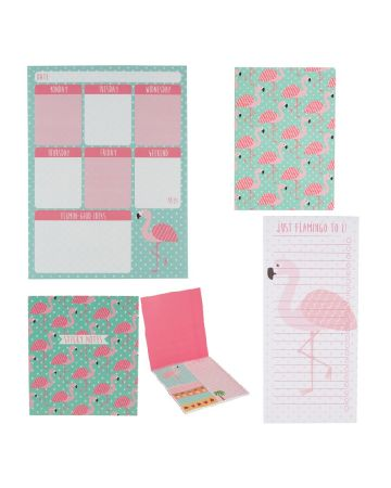 Sass & Belle Tropical Flamingo Stationery Set