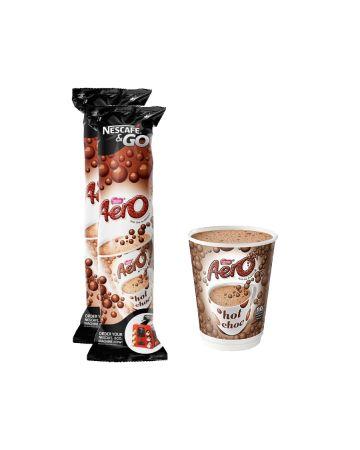 Nescafe & Go Aero Hot Chocolate 8s