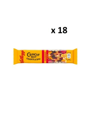 Kellogg's Crunchy Nut Cranberries & Nuts Bar 45g