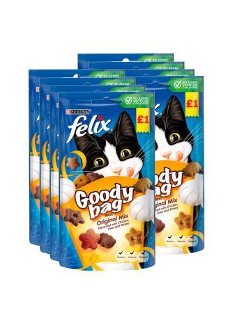 Felix Goody Bag Treats Original Mix 60g (pm £1.00)