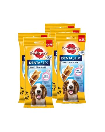 Pedigree Dentastix 10-25kg Dogs 7s (pm £1.95)