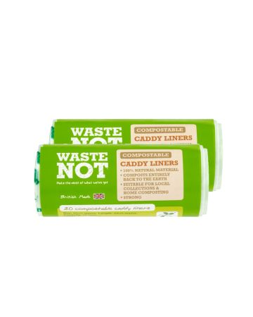 Wastenot Compostable Caddy Liners 10ltr 20s