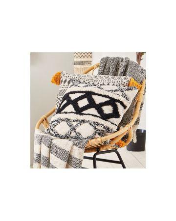 Sass & Belle Scandi Boho Cushion