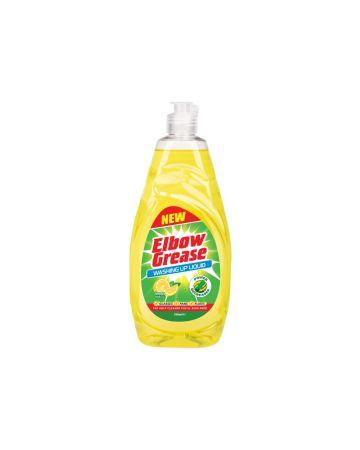Elbow Grease Washing Up Liquid Lemon 740ml