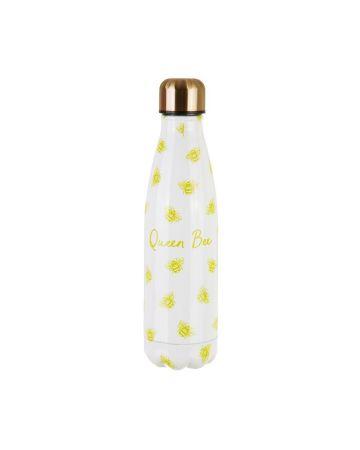 Sass & Belle Stainless Steel Water Bottle Queen Bee 500ml