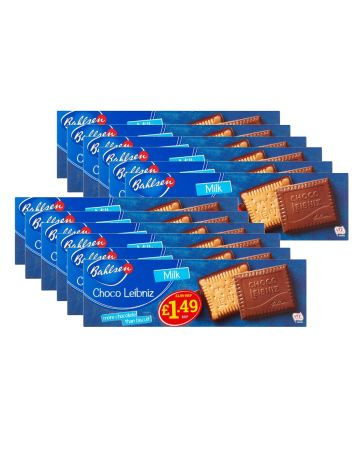 Bahlsen Choco Leibniz Milk Chocolate Biscuits (pm £1.49)