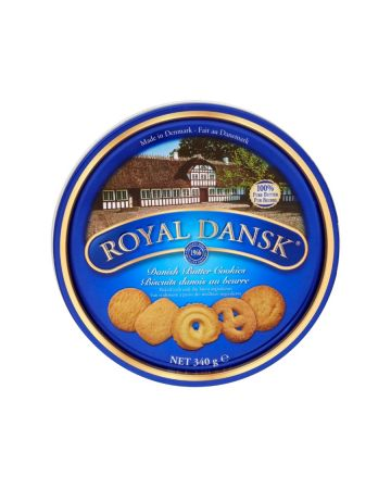 Royal Dansk Danish Butter Cookies Tin 340g