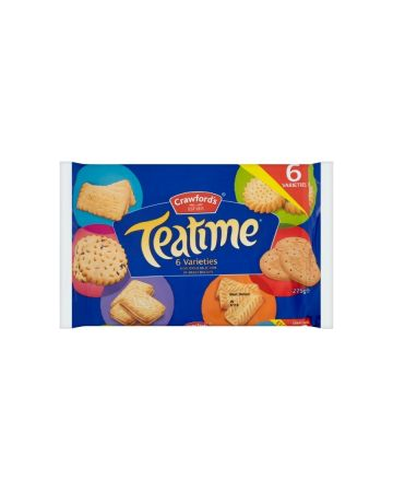 Crawford's Teatime Biscuit Assortment 275g (PM £1.00)