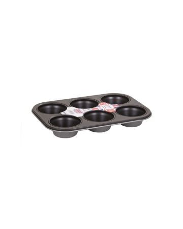 Wham Essentials 6 Cup Muffin Tin