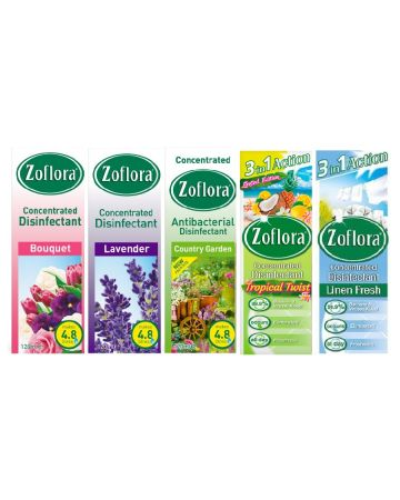 Zoflora Disinfectant Assortment 120ml