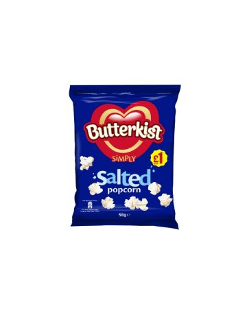 Butterkist Popcorn Salted 58g (PM £1)