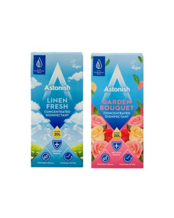 Astonish Concentrated Disinfectant 500ml (Garden Bouquet & Linen Fresh)
