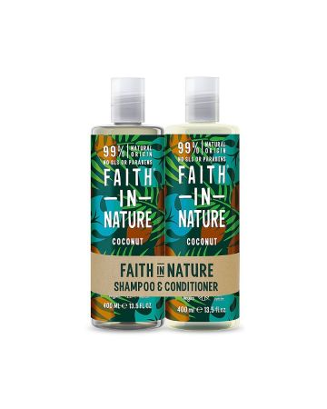 Faith In Nature Coconut Shampoo & Conditioner 400ml