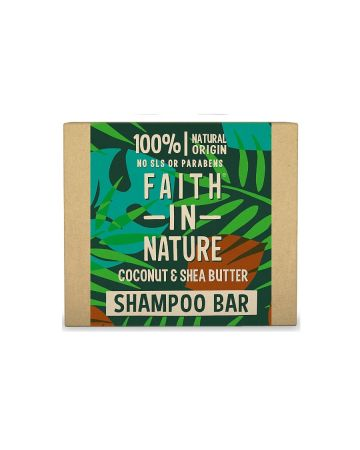 Faith In Nature Coconut & Shea Butter Shampoo Bar 85g